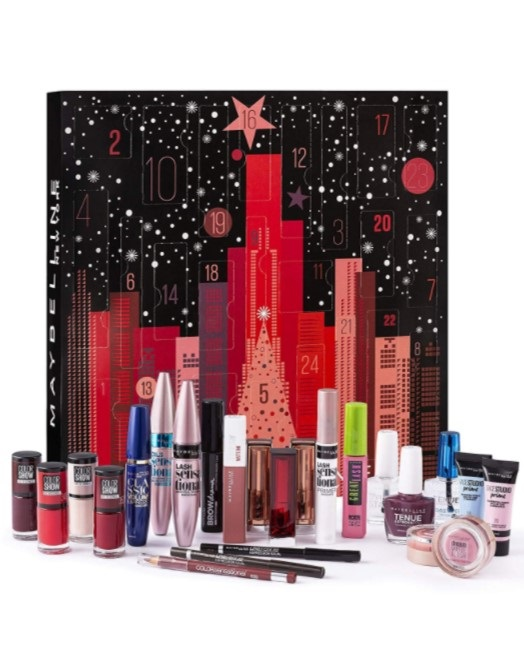 Календарь Maybelline Advent